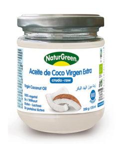 aceite de coco en herbolario aravaca
