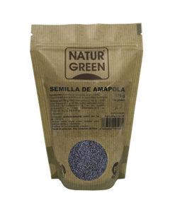 semillas de amapola en herbolario aravaca