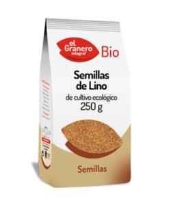Semillas de lino dorado 250 g El Granero Integral