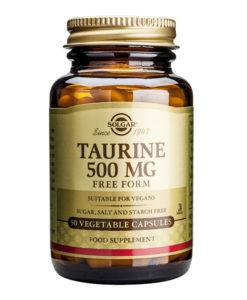 Taurine 500 mg en herbolario aravaca