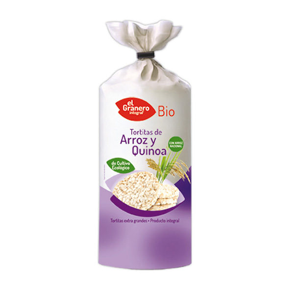 Tortitas de arroz y quinoa 100 g ECO BIO
