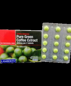 Cafe Verde Lambers 60 Tabletas