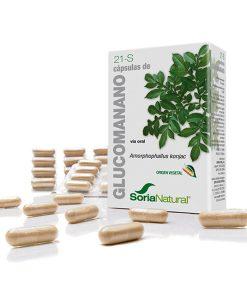 Glucomanano Soria Natural 60 Cap