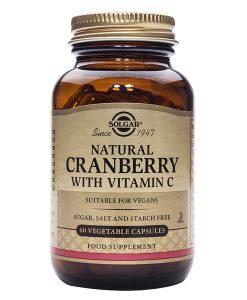 Natural Cranberry with Vitamin C Solgar (60 Cap)