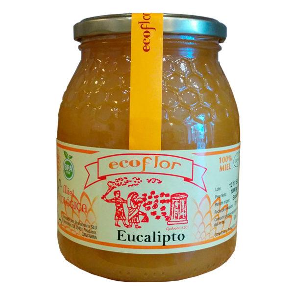 Miel de Eucalipto 1 kg Ecoflor