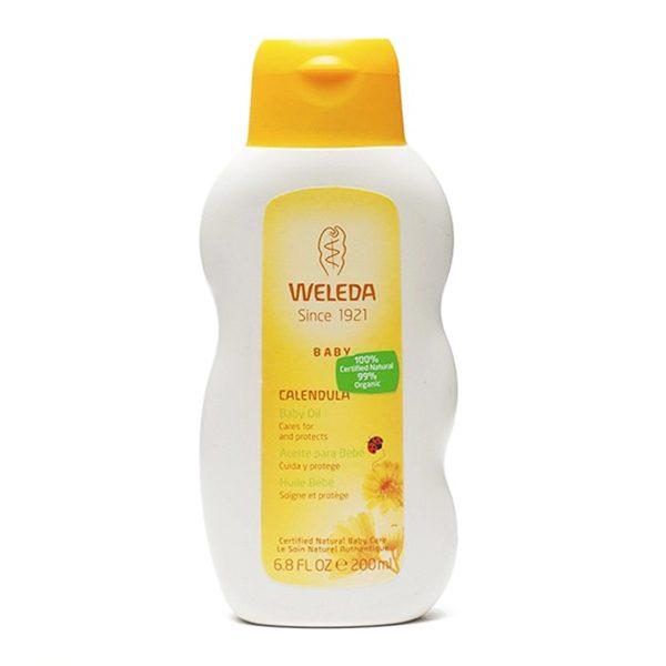 Aceite de Calendula Para Bebe (200 ml) - Weleda