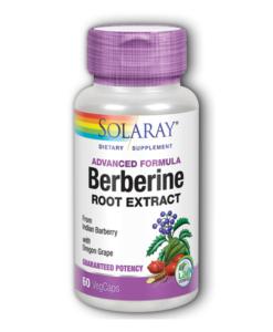 Berberine ( 60 Cap) - Solaray