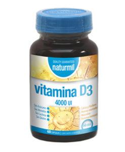 Vitamina D3 4000 UI (60 Cap) - Naturmil