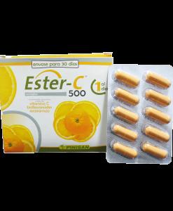 Ester C Vitamina C Pinisan 500 mg