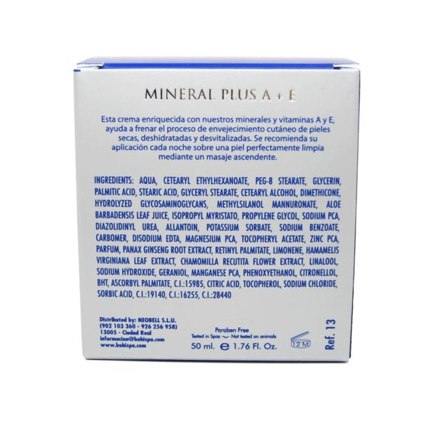Mineral Plusa Crema Renovadora Bohí Spa