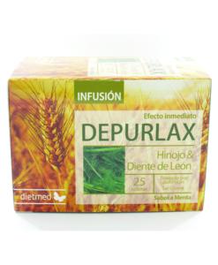 Infusión en filtros Depurlax de Dietmed