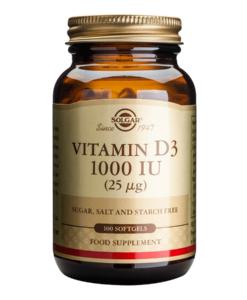Vitamina D3 1000 IU Solgar