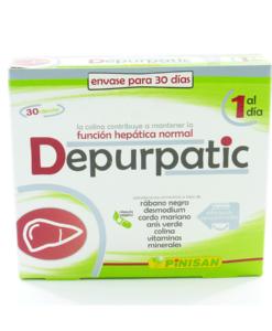 Depurpatic Pinisan función hepática normal