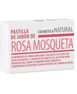 Pastilla de jabon Rosa Mosqueta Equimercado 85 g
