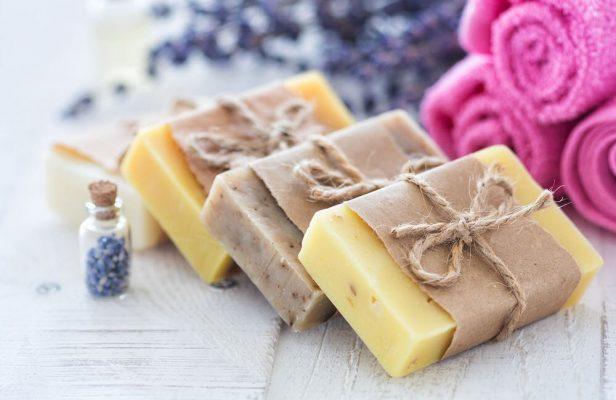 Jabones naturales para limpiar saludablemente la piel