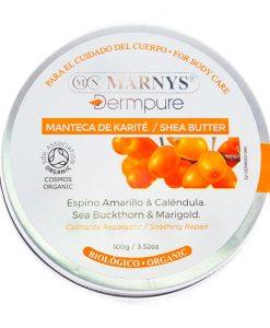 Manteca de karite Espino amarillo y calendula Marnys Dermpure 100 g
