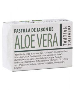 Pastilla de jabon Aloe Vera Equimercado 85 g