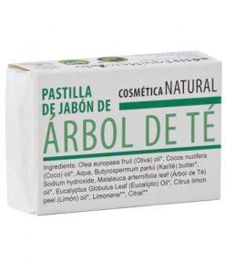 Pastilla de jabon Arbol de te Equimercado 85 g