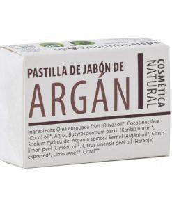 Pastilla de jabon Argan Equimercado 85 g